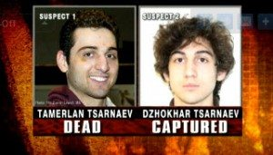 Tsarnaev brothers_suspects in Boston bombing