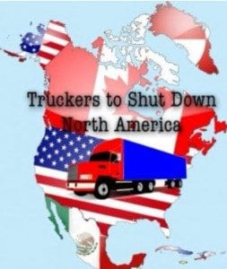 1 million truckers to shut US down
