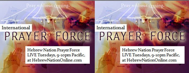 HN Prayer Force ~ 1/10/17