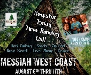 Messiah West Coast Ad