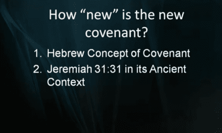 How New is the New Covenant?