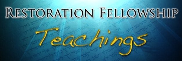Restoration Fellowship~ 11.1.14 ~ Lech Lecha ~Where Does Our Righteousness Come From?