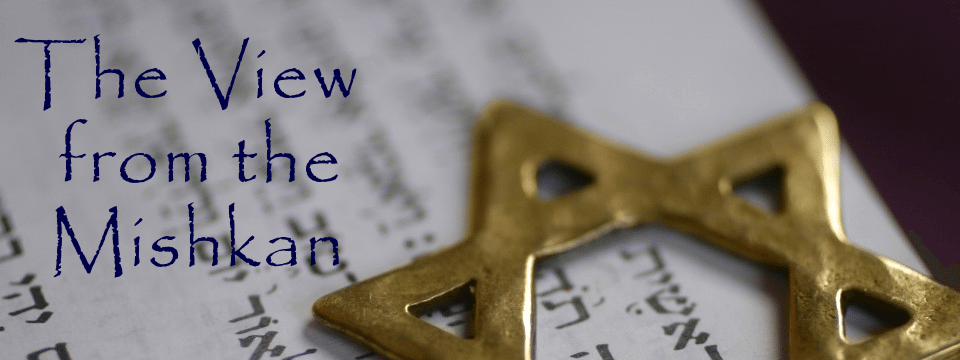 The View from the Mishkan – 11/10/2015