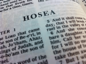 The book of Hosea — this book is written to whom?