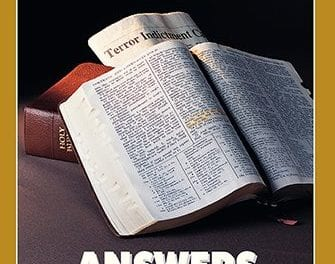 ANSWERS TO THE SCRIPTURES