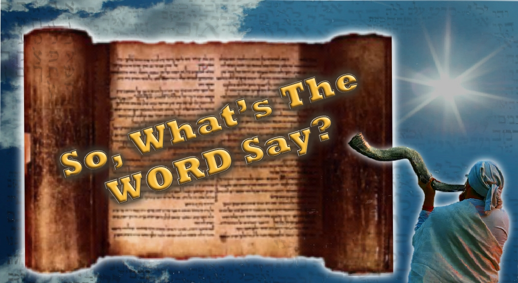 Sabbath, Tassels & Passover – What's The Word Say? 04 21 16