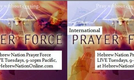 HN Prayer Force ~ 2/21/17