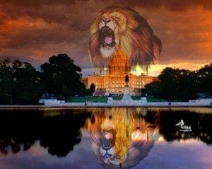 lion of judah over the capitol