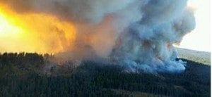 wildfire in WA
