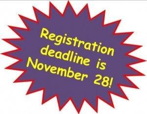 registration deadline logo