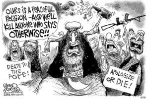 Cartoon about ISIS_Islam