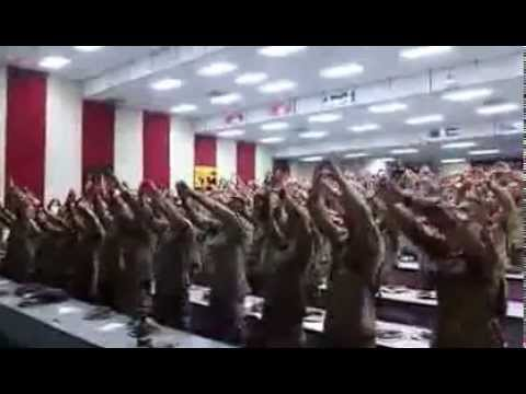 "American Marines Singing ""Days of Elijah"""
