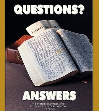 "ANSWERS to the SCRIPTURES– ""A NEW COMMANDMENT I GIVE YOU"", PART 2"