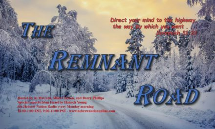 Hebrew Nation Morning Show – The Remnant Road, 12/17/18